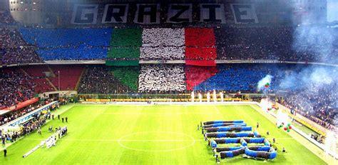 san siro away section ac milan inter milan stadio san siro stadium guide