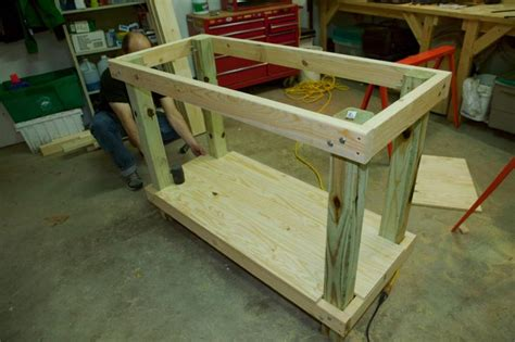 Garage Workbench Design how to build a simple workbench octane press