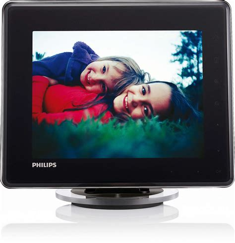 cornice digitale a batteria photoframe digitale con batteria sph8008 10 philips