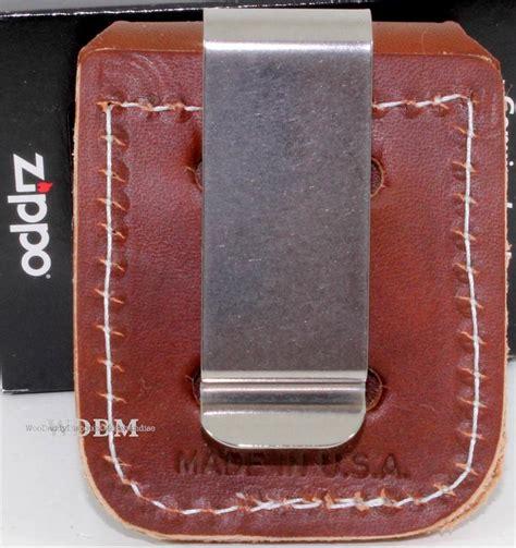 zippo holder zippo brown leather lighter pouch holder w belt boot