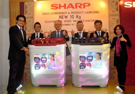 Mesin Cuci Sharp Dolphinwave 10 Kg sharp luncurkan mesin cuci kapasitas besar