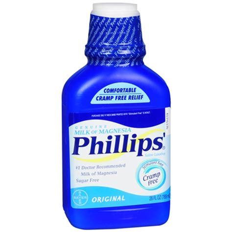 Phillips Milk Of Magnesia phillips genuine milk of magnesia original walgreens