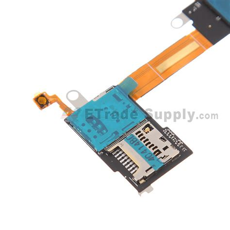 Hp Sony M2 Single Sim sony xperia m2 sim card reader flex cable ribbon etrade supply