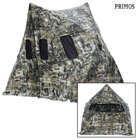 primos bull shack attack ground blind wing supply
