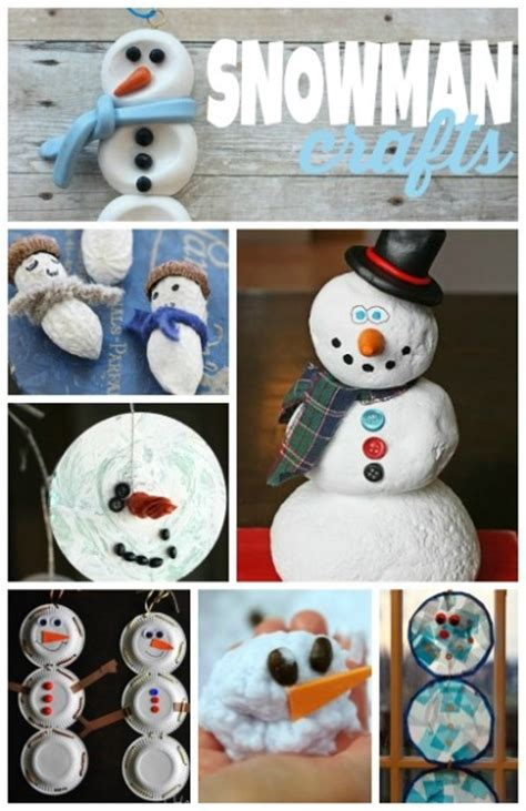 easy snowman crafts for snowman crafts for housing a forest