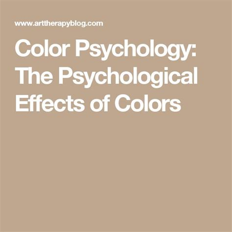 psychological effects of color best 25 psychological effects ideas on pinterest