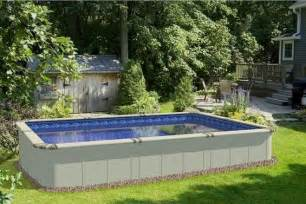 Backyard Plunge Pool Above Ground Swimming Pools On Clearance Ideas For The