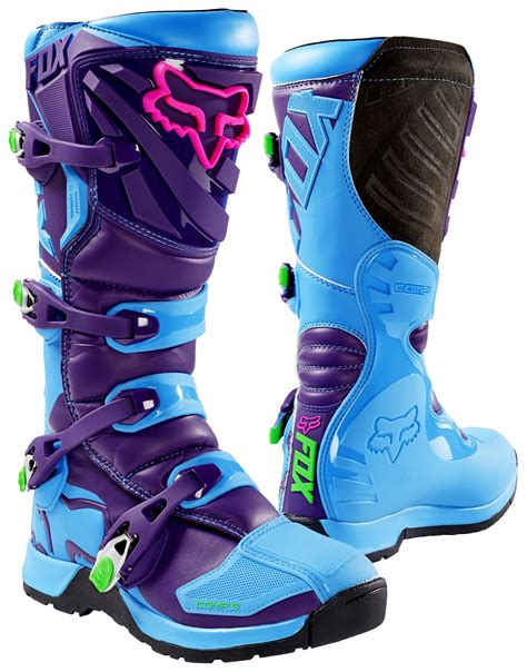 fox youth motocross boots fox racing youth comp 5 se boot revzilla