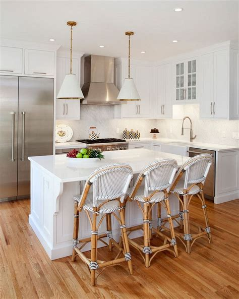 small white kitchen island best 25 small kitchen layouts ideas on