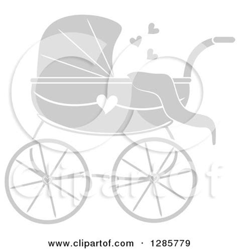 pams doll house royalty free rf baby pram clipart illustrations vector graphics 1