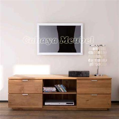 Meja Tv Jepara meja tv minimalis kayu jati modern jepara meja tv