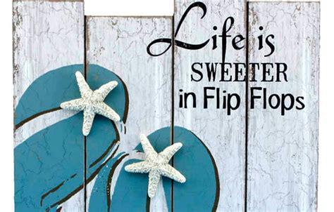 flip flop home decor best flip flop decor beachfront decor