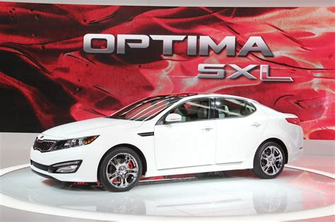 Kia Optima Limited Edition New 2012 Kia Optima Sx Limited Edition Adds Some Bling