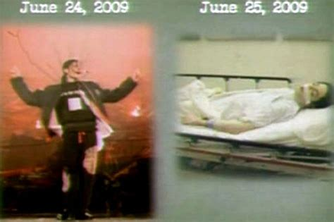 michael jackson death bed michael jackson photo of singer s dead body shown at trial of his doctor conrad