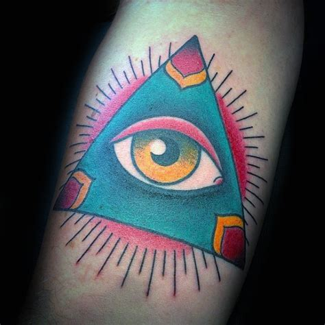 Old School Eye Tattoo Meaning | 50 traditional eye tattoo designs for men old school ideas