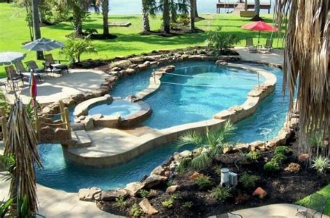 Pool With Lazy River Around It For The Home Pinterest Lazy River Pools For Your Backyard