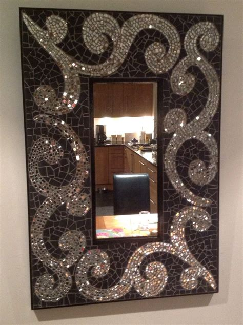 bathroom mirror mosaic 25 best ideas about tile mirror frames on pinterest