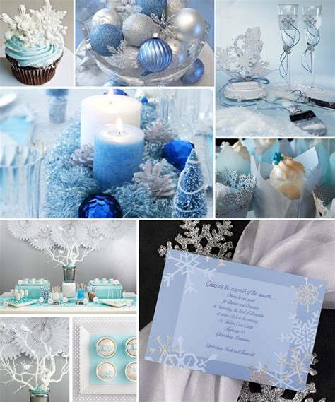 Inspiration for winter theme wedding party ? lianggeyuan123