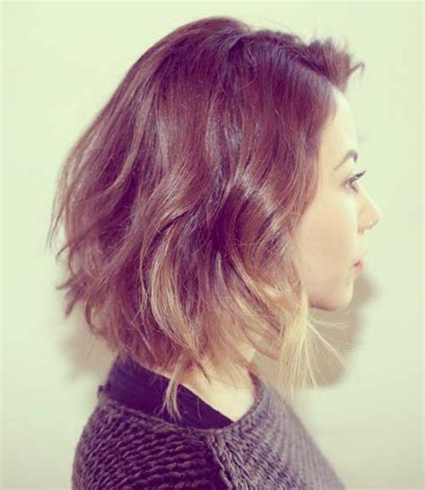 can you have short bangs with ombre hair 25 best short hair color short hairstyles 2017 2018