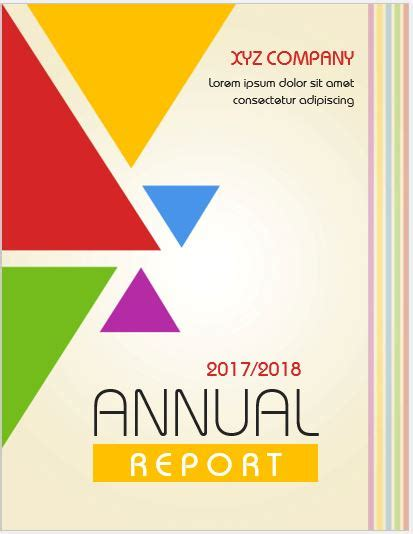 20 Report Cover Page Templates For Ms Word Word Excel Templates Cover Page Template