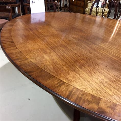 8 Seater Oval Dining Table Large Georgian Oval Dining Table 8 Seater Antiques Atlas