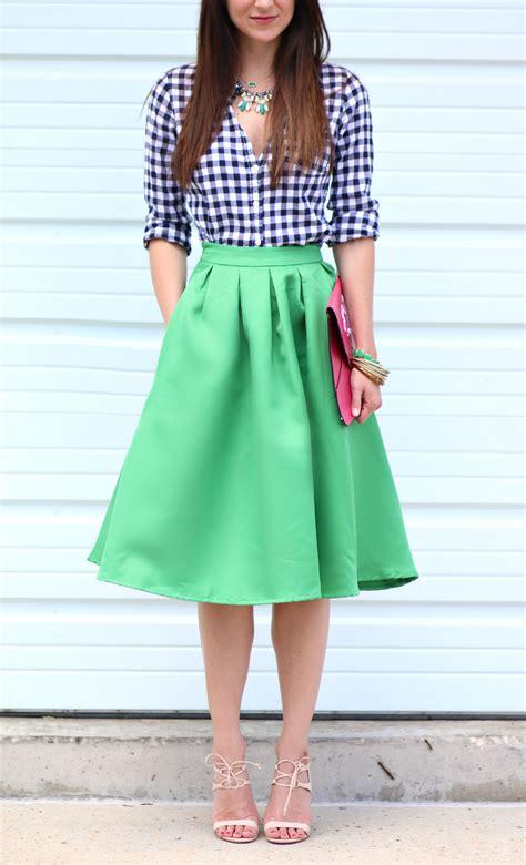 green midi skirt emerald jewels diary of a debutante