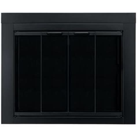 replacement tempered glass for fireplace doors need these to replace my brass pleasant hearth ascot