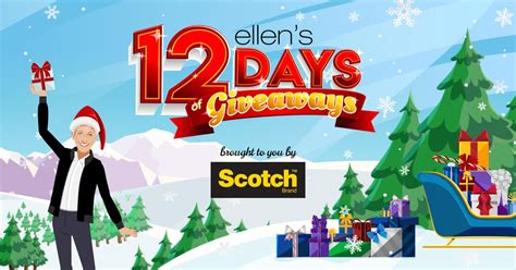 ellen 12 days of christmas 2018 gifts s 12 days of giveaways 2018 everything you need to winzily