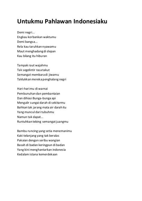 menulis puisi untuk anak sd puisi