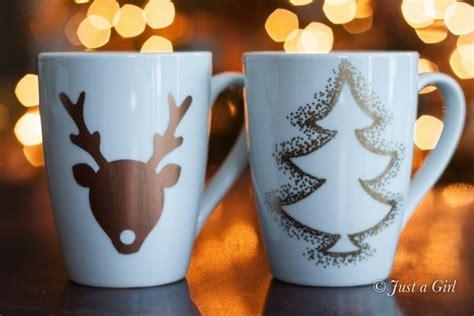 happy holidays gift idea diy christmas mugs tatertots