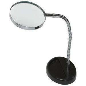 Desk Magnifying L by Magnifying Glass 5x Desk Top Table Flexable Neck Magnifier