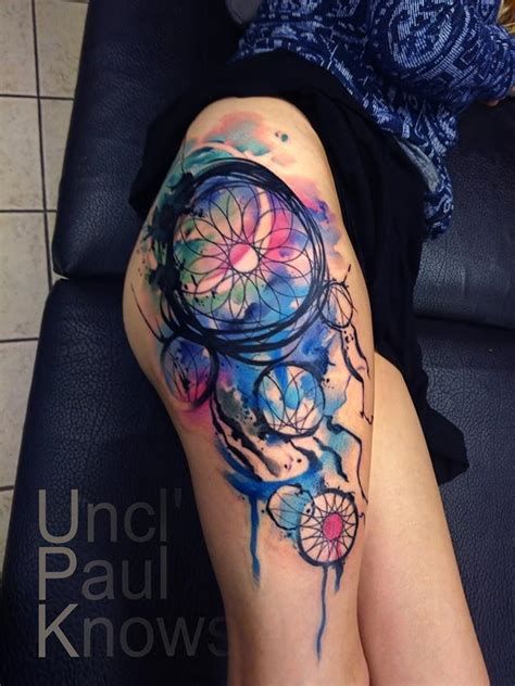 50 gorgeous dreamcatcher tattoos done right tattooblend