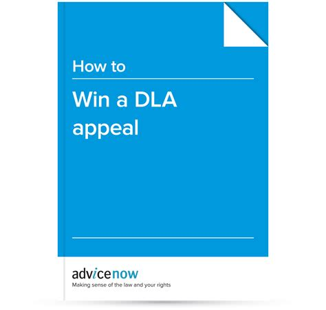 Appeal Letter Template For Dla How To Win A Dla Appeal Advicenow