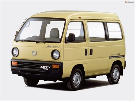 honda acty honda acty van 1988 90 wallpapers 1600x1200