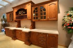 Oak Kitchen Cabinets by Oak Kitchen Cabinets Country Images