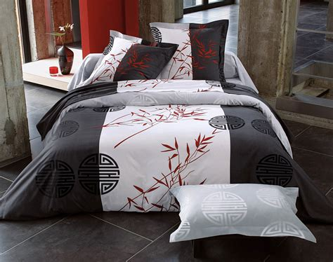 housse de couette motif chinois linge de lit motifs bambous becquet cr 201 ation becquet