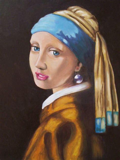 comprar cuadro la joven de la perla cuadros la joven de la perla mi version lupita murillo tamayo artelista com