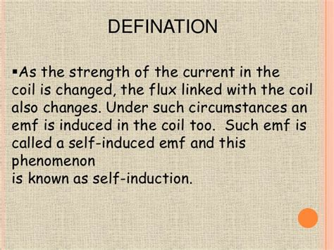 self induction phenomenon self induction phenomenon 28 images ppt electromagnetic induction powerpoint presentation id
