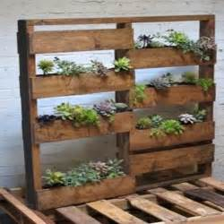 love fluff other stuff pallet planter boxes