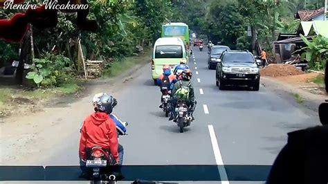Detik V | detik detik crash rombongan motor youtube