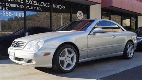 how make cars 2002 mercedes benz cl class navigation system purchase used 2002 mercedes cl500 in san diego california united states
