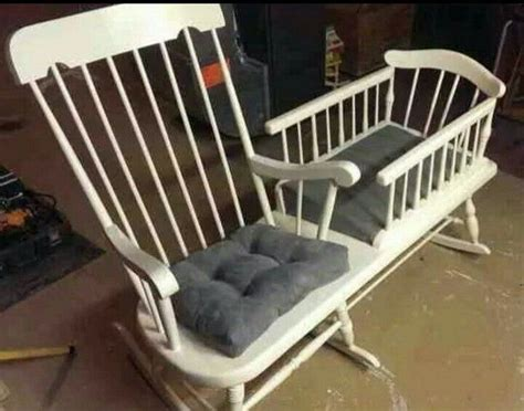 Rocking Chair Crib Combo by Unique Crib Cradle Ideas 05 The Owner Builder Network