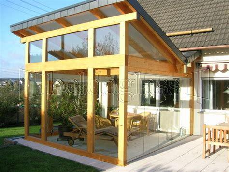 fotos de porches de madera porches acristalados cerramientos de porches con cristal