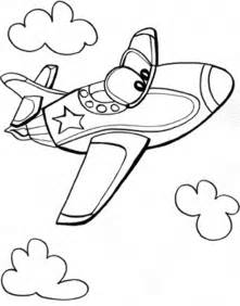 airplane coloring pages for preschool gallery