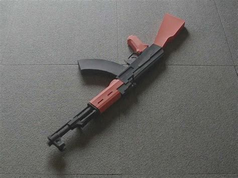How To Make A Paper Gun Ak 47 - how to make a paper model gun avtomat kalashnikova