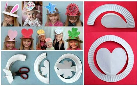How To Make Cool Paper Hats - how to make hat creations with paper plates