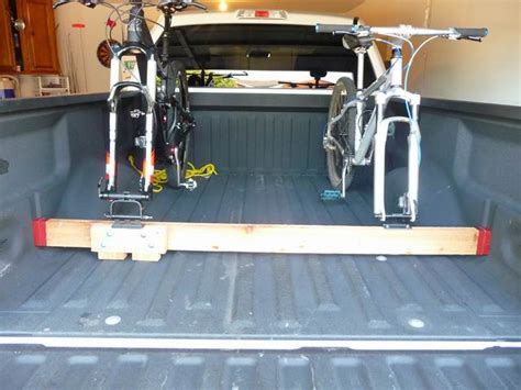 How To Build A Truck Bed Bike Rack by Building Your Own Bike Rack For The Truck Bed Mtbr