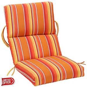 High Back Patio Chair Cushions Sale Sale Dolce Mango Sunbrella High Back Outdoor Recliner