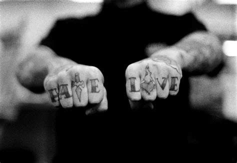 love and hate tattoos cool picture new and tattoos