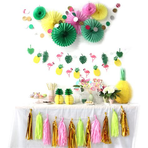 summer decorations aliexpress com buy hot sale a set flamingos theme